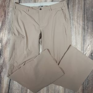 REI Sahara Rollup hiking pants 16 khaki